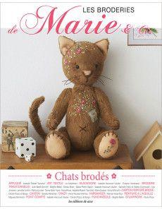 Les Broderies de Marie & Cie No 17 - Chats Brodés (Gatos Bordados)