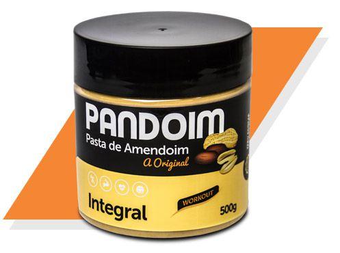 Pandoim Integral Pasta de Amendoim Zero 500 g – Panda Proteico