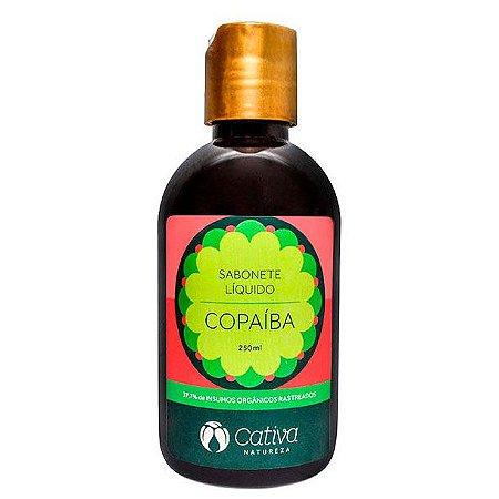 Sabonete Liquido Copaíba Orgânico Natural – Cativa Natureza