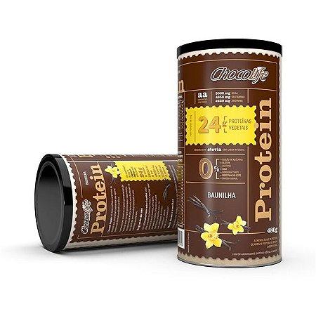 Protein Baunilha 480 g – Chocolife