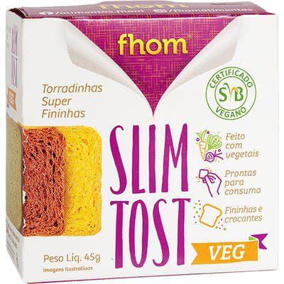 Torrada Slim Tost Veguinha 45 g – Fhom