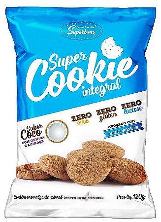 Super Cookie Integral Coco 120 g – Superbom