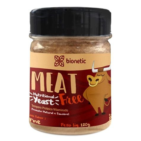 Nutritional Yeast (Levedura Nutricional) Meat Free 120 g – Bionetic