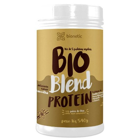 Bio Blend Protein Baunilha 540 g – Bionetic