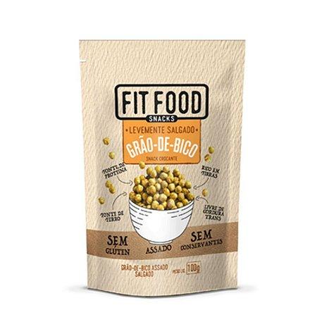 Grão-de-Bico Levemente Salgado 100 g – Fit Food