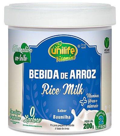 Bebida de Arroz Sabor Natural 200 g – Unilife