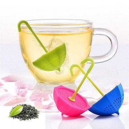 Infusor de Chá Guarda-Chuva (Verde)