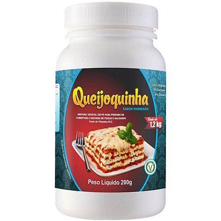 Queijoquinha Queijo Vegetal Parmesão – Rende 1,2 kg