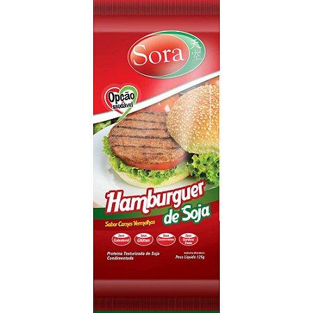 Hambúrguer de Soja Carne Vermelha 110 g – Sora