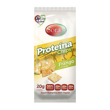 Proteína Chips Frango com Limão 20 g – Sora