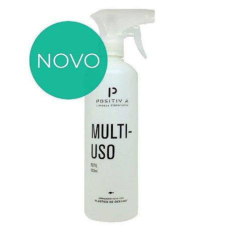 Frasco Auxiliar Multiuso Oceano Limpo 500 ml - Positiva