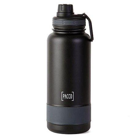 Garrafa Termica Preta Hydrabottle 950 ml - Pacco