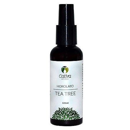 Hidrolato de Tea Tree Orgânico Natural - Cativa Natureza