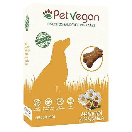 Biscoito Natural PetVegan - Maracujá e Camomila