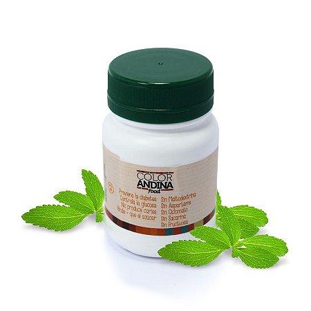 Stevia Adoçante Natural em pó 20 g - Color Andina Food
