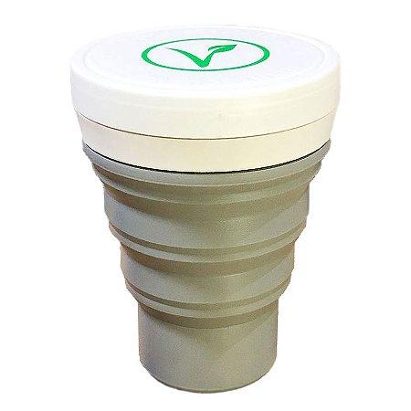 Copo Ecológico Retrátil Chia Vegan - Menos 1 Lixo