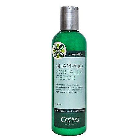 Shampoo Fortalecedor Erva Mate Orgânico - Cativa Natureza
