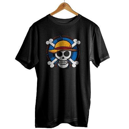 Camiseta One Piece - Logo Caveira