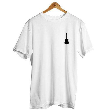 Camiseta Violão Música Viola