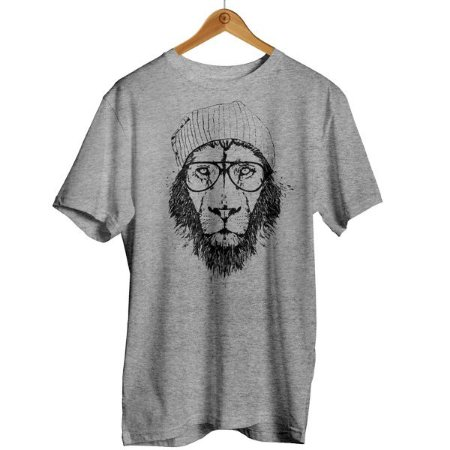 Camiseta Leão de Touca