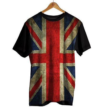 Camiseta Sublimação Bandeira - Inglaterra