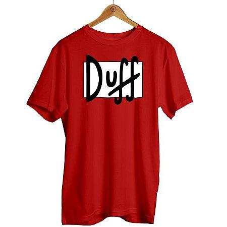 Camiseta Simpsons - Cerveja Duff