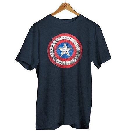 Camiseta Capitão América Vintage - Marvel