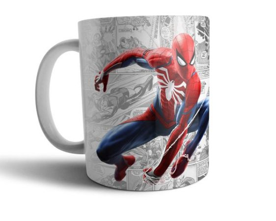 Caneca Homem Aranha - Spider Man - Marvel