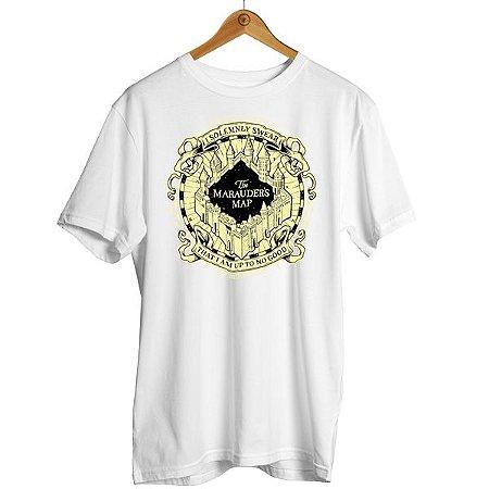 Camiseta Harry Potter - Mapa do Maroto