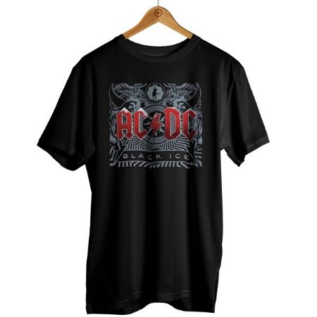 Camiseta ACDC - Black Ice