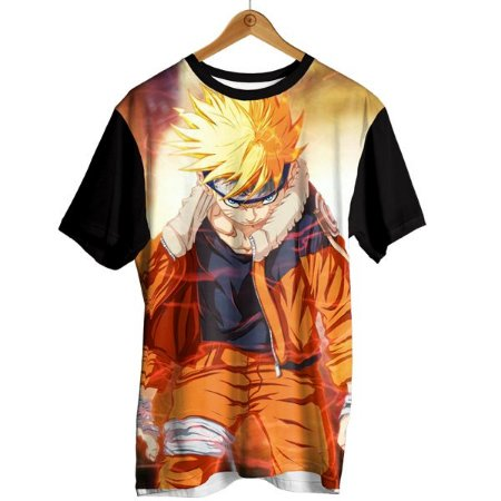 Camiseta Naruto - Angry