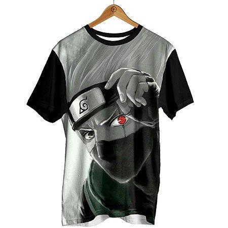 Camiseta Naruto - Kakashi Rosto