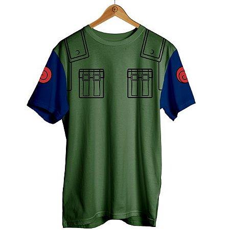 Camiseta Naruto - Kakashi Uniforme