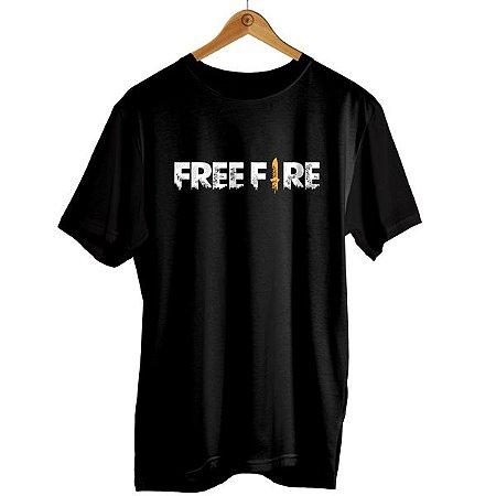 Camiseta Freefire - Logo