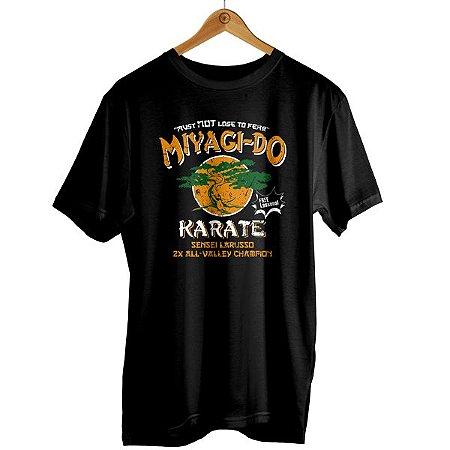 Camiseta Miyagi-Do - Cobra Ki - Karatê Kid