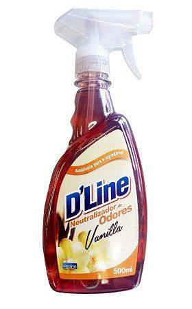 Neutralizador de Odores D'Line Vanilla 500ml