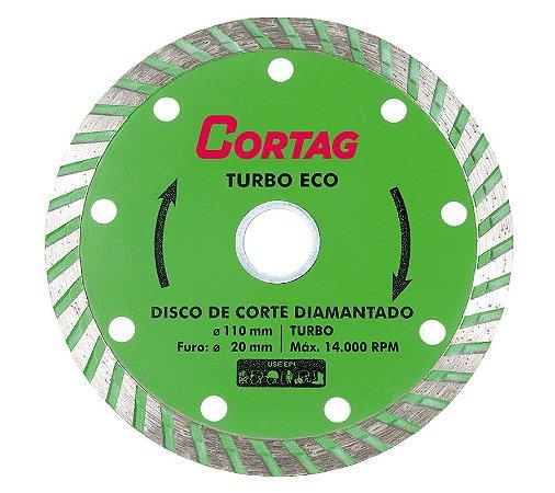Disco de Corte Diamantado Turbo Eco