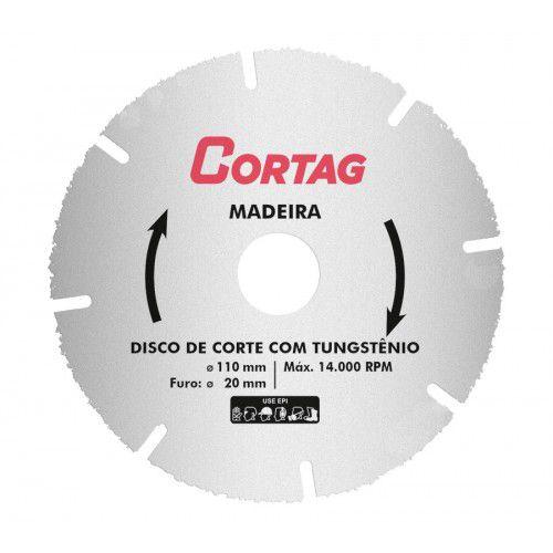 Disco de Corte com Tungstênio Madeira