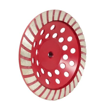 Rebolo Diamantado Tipo Prato com Rosca M14 100mm