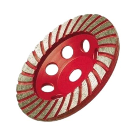 Rebolo Diamantado 110mm x Rosca M14 Red Diamond