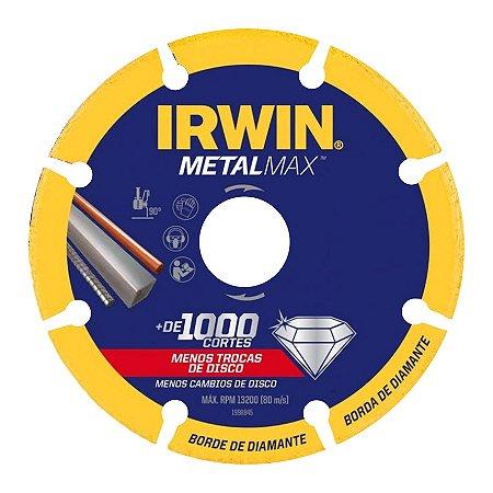 Disco de Corte Diamantado 115mm Metalmax Irwin