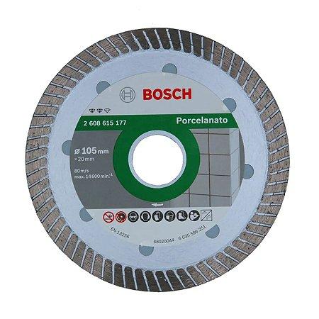 Disco Diamantado Porcelanato Turbo Fino 105mm