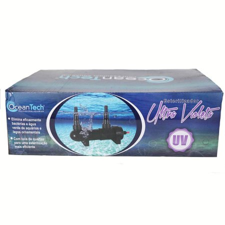 Esterilizador UV de 13W  cristal de quartzo Ocean Tech 220V