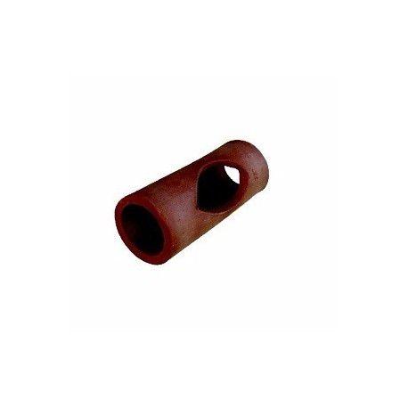 Tubo cerâmico para aquários pequeno 14cm x 5,5cm - Pet pira