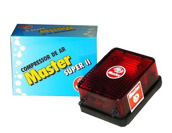 Compressor de AR para aquários Master Super II - 150 l/h 127V
