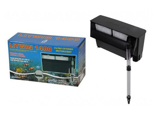 Filtro externo para aquários tipo Hang-On Litwin 1400S 110V