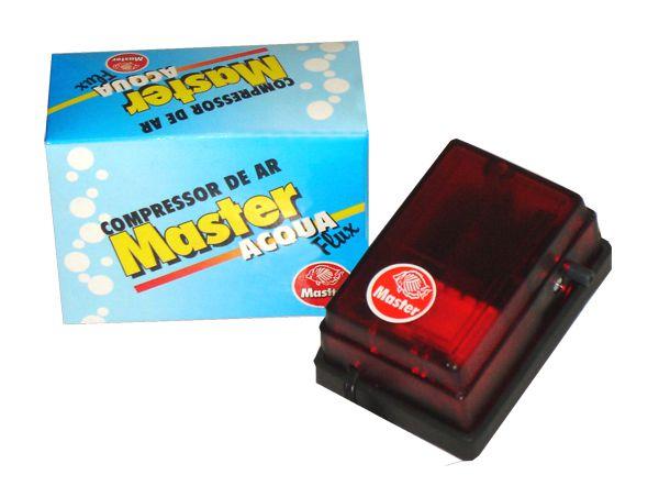Compressor de AR para aquários Master Acqua Flux - A01 35 l/h 220V