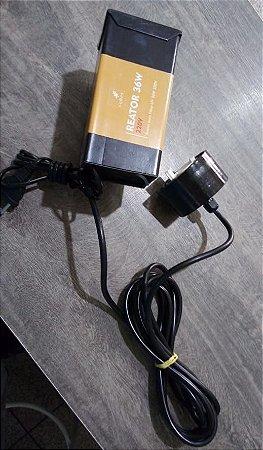 Conjunto elétrico c/ reator para UV de 36W 127V