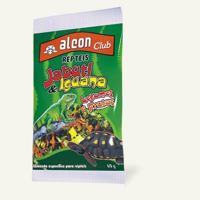 Alimento especial para répteis com legumes e frutas desidratadas Alcon Club Jabuti e Iguana 60g