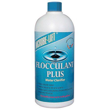 Floculador clarificante para lagos ornamentais Microbe-Lift  Flocculant Plus 946 ml